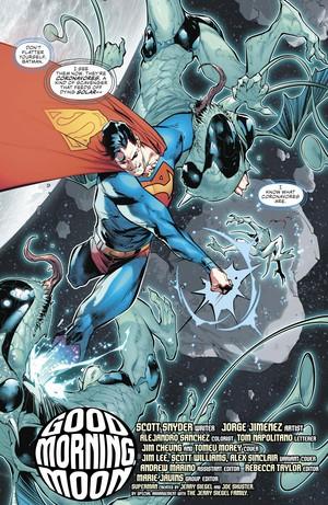 Superman vs Coronovores