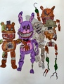 THE TWISTED ONES - five-nights-at-freddys photo