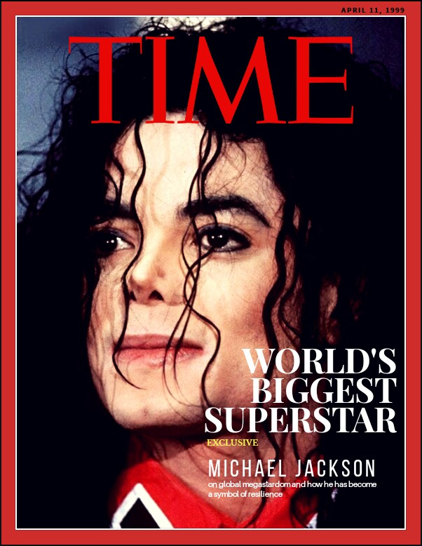 TIME magazine cover : World's Biggest Superstar