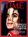 TIME magazine cover : World's Biggest Superstar  - michael-jackson fan art