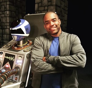 TJ một giây Red Turbo Ranger and Blue không gian Ranger 2