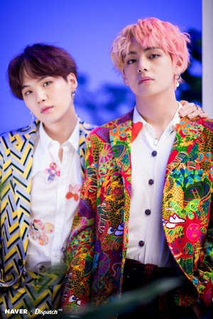 Taehyung and Suga