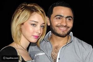 Tamer Hosny and Bassma Boussel