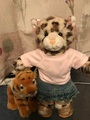 Tao and her Tiger - stuffed-animals photo