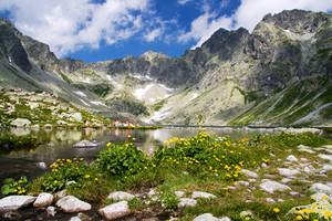 The Belianske Tatras, Slovakia