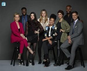 The Bold Type Season 2 Official Picture - Jacqueline, Alex, Jane, Sutton, Kat, Adena, Oliver,Richard