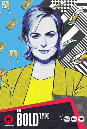 The Bold Type Season 2 Poster - Jacqueline Carlyle