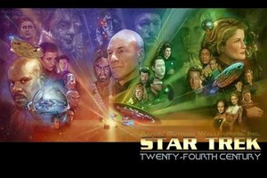 The Captains of 星, つ星 Trek series