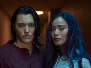 The Gifted Season 2 Official Picture - John Proudstar and Clarice Fong