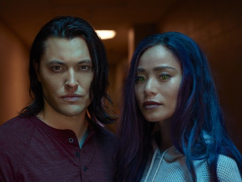 The Gifted (TV Series) wallpaper titled The Gifted Season 2 Official Picture - John Proudstar and Clarice Fong