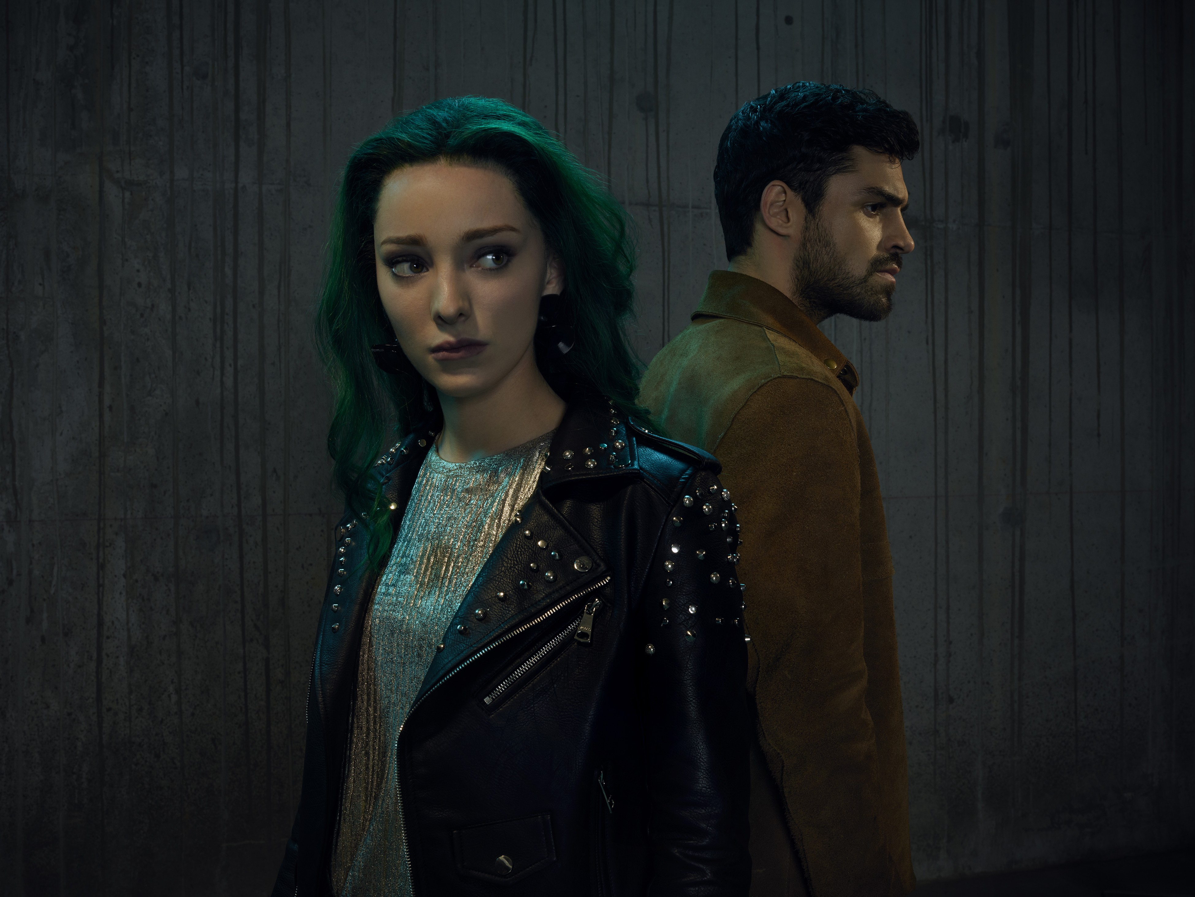 The Gifted Season 2 Official Picture - Lorna Dane and Marcos Diaz