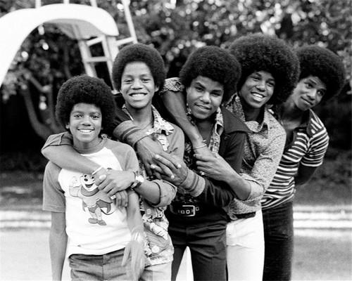 Michael Jackson Hintergrund entitled The Jackson 5