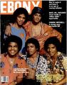 The Jacksons On The Cover Of Ebony Magazine  - michael-jackson photo