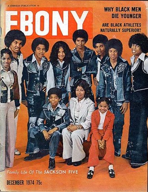 The Jacksons On The Cover Of Ebony