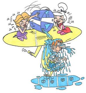 The Jetsons Ice Bucket Challenge