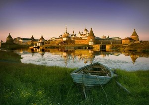 The Solovki Islands, Russia