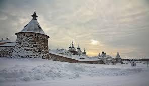 The Solovki Islands, Russia