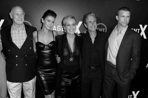 The cast of Agent X (TNT)