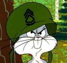 This means war Bugs Bunny
