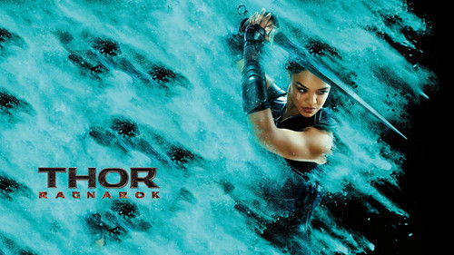 Thor: Ragnarok پیپر وال entitled Thor: Ragnarok (Valkyrie)