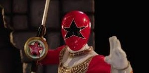 Tommy Morphed As The Zeo Red Ranger 2