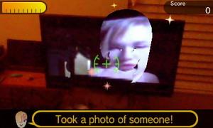 Took a fotografia of someone!