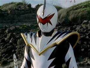 Trent Morphed As The White Dino Ranger