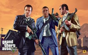 Trevor, Michael and Franklin
