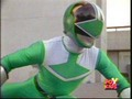 Trip Morphed As The Green Time Force Ranger - power-rangers-and-sailor-moon photo