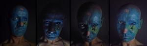 Tuerto - eyelids piercing - 2017