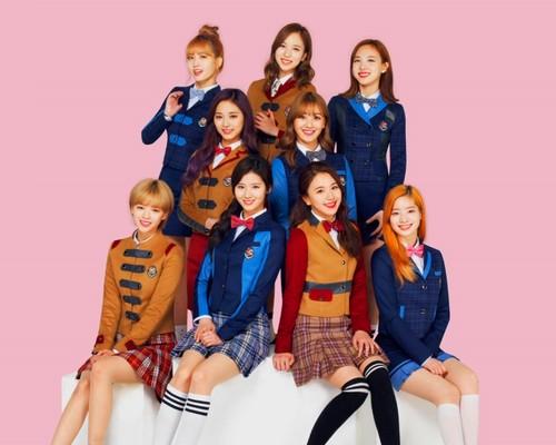 Twice (JYP Ent) वॉलपेपर titled Twice वॉलपेपर