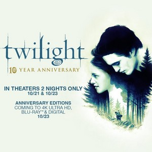 Twilight movie 10 anno anniversary