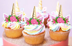 Unicorns cupcakes