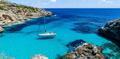 Yacht Sailing On The Mediterranean