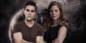 Valerie Tulle and Stefan Salvatore