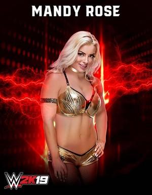 WWE2K19 Mandy Rose