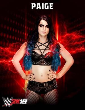 WWE2K19 Paige