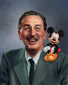 Walt Disney  - disney fan art