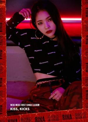 Weki Meki 'Kiss, Kicks' teaser - Rina