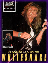 Whitesnake Magazine Covers