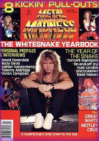 Whitesnake Magazine Covers