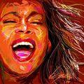 Whitney Houston  - yorkshire_rose fan art
