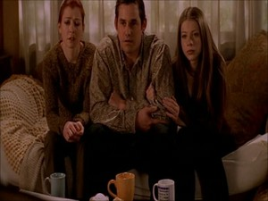 Willow, Xander and Dawn in Normal Again