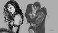 dc-comics - Wonder Woman The Kiss 2 wallpaper
