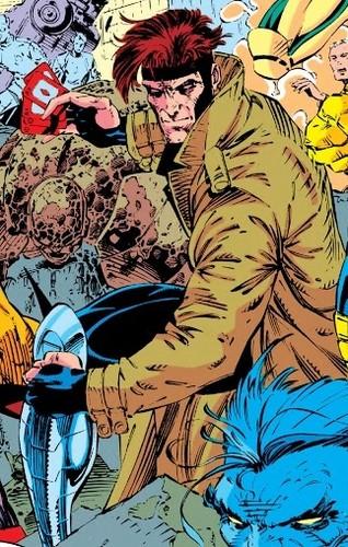 Gambit achtergrond titled X-Men #2