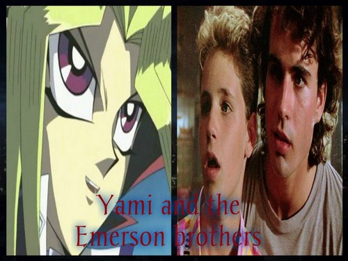 Crossover Fanfiction wallpaper titled Yami and the Emerson brothers