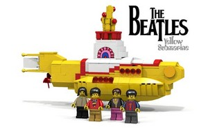 Yellow Submarine *Lego* Beatles!