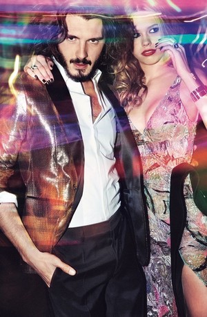 Yon Gonzalez and Almudena Lapique at Instyle Photoshoot