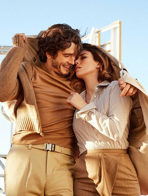 Yon Gonzalez and Blanca Suarez at InStyle Photoshoot