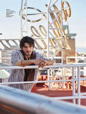 Yon Gonzalez at InStyle Photoshoot